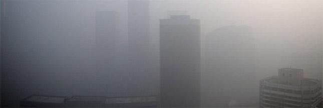 La pollution qui détourne les avions à Singapour