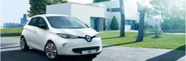 La Renault Zoé en pente douce
