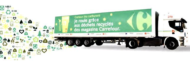 Carrefour roule au biométhane