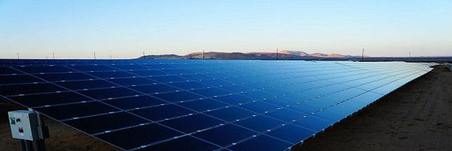 L'énergie solaire alimente la Californie