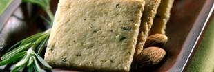 Recette bio : biscuits apéro sans gluten