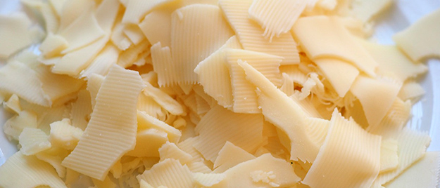 En râpant vous-même votre fromage, pas de doute possible!