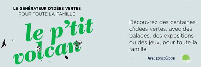 Participez au concours Les idées vertes de l'automne avec Le p'tit volcan !