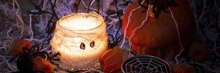 Halloween : une décoration moins polluante !