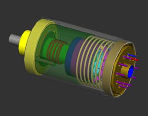 exemple d'accéléromètre, qui permet de mesurer l'accélération d'un objet