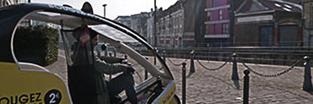 Balade, navette, retour de course, prenez un vélo-taxi !