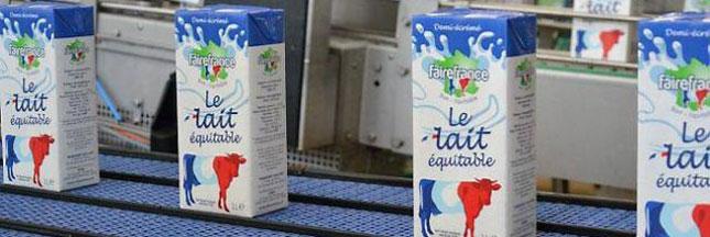 Du lait équitable et 100% français avec Fairecoop