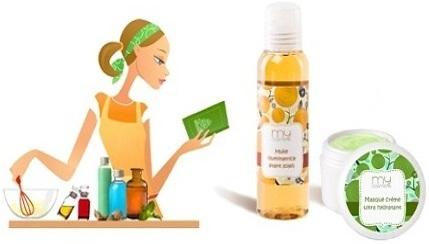 Les cosmétiques fait-maison sont l'un des principaux domaines du DIY particulièrement en vogue dans les années 2000.