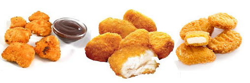 Ces substances que nous cachent... les nuggets de poulet