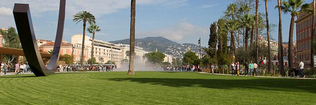 La promenade du Paillon devient le poumon de Nice