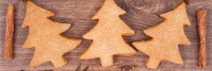 Sablés de Noël aux noisettes et au thé pour commencer à croquer les fêtes