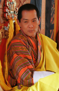 Jigme Singye Wangchuck. Photo : Travelbhutan.com