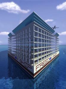 Ville flottante écologique