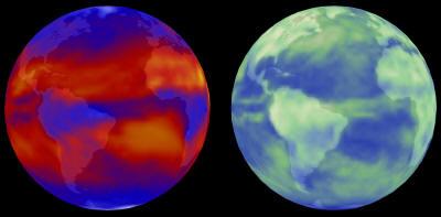 bilan_radiatif_terre gaz effet de serre