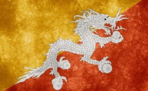 drapeau-bhoutan