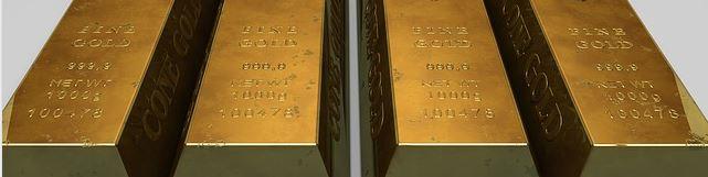 Photo de lingos d'or pour le fonds souverain norvégien