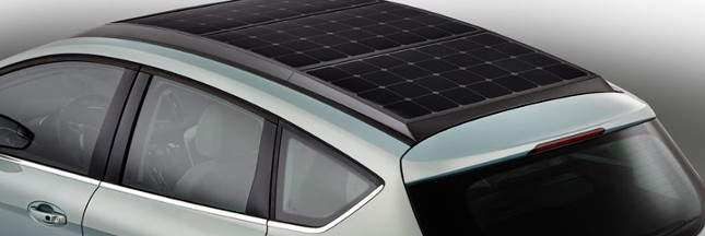ford invente la voiture solaire avec c max solar energi. Black Bedroom Furniture Sets. Home Design Ideas