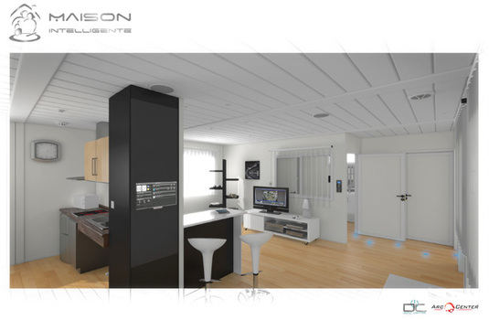 la maison intelligente pour personnes g es. Black Bedroom Furniture Sets. Home Design Ideas