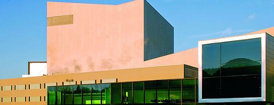 Palais des congrès de Bregenz. Photo: Marco Mathis