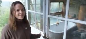 Marina et sa salle de bain avec vue!