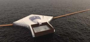 Barrage flottant Boyan Slat