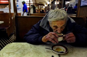 Cafés suspendus