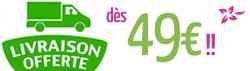 Livraison gratuite dès 49€