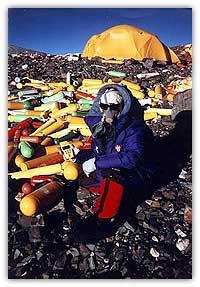Pollution de l'Everest