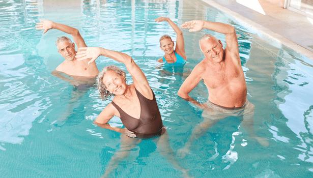 cours aquagym santé