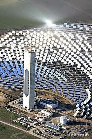 La centrale solaire à concentration de Séville