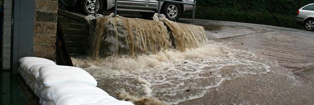 Une solution écologique contre les inondations, le Floodsax