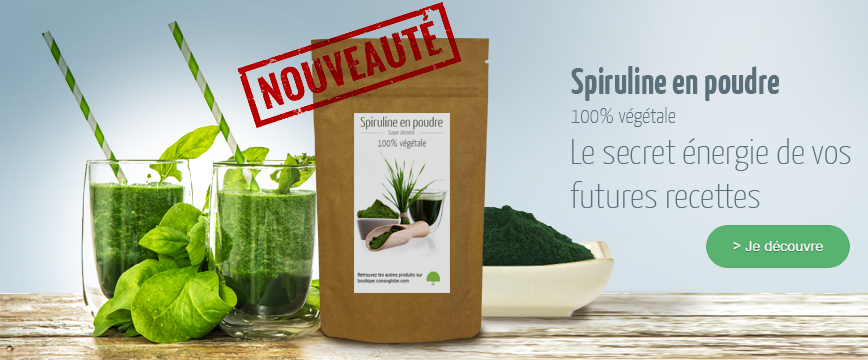 spiruline boutique consoglobe