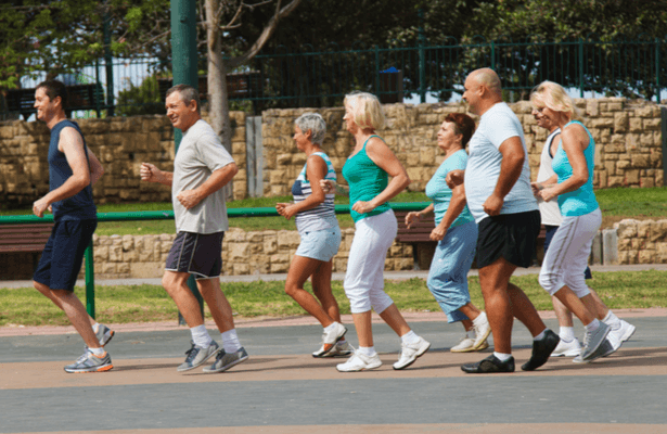 pratique du sport en groupe