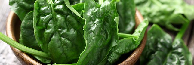 Recette bio : salade d'épinards au quinoa sauvage et à la spiruline