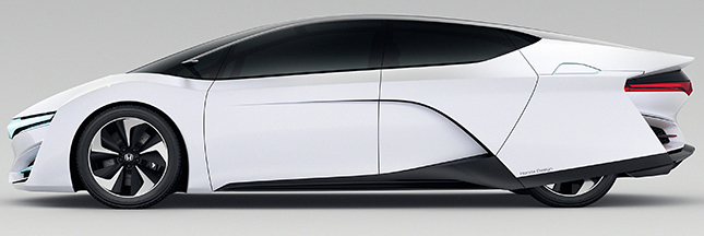la future voiture hydrog ne de honda serait pour 2016. Black Bedroom Furniture Sets. Home Design Ideas