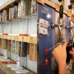 supermarché sans emballage Denrées au poids
