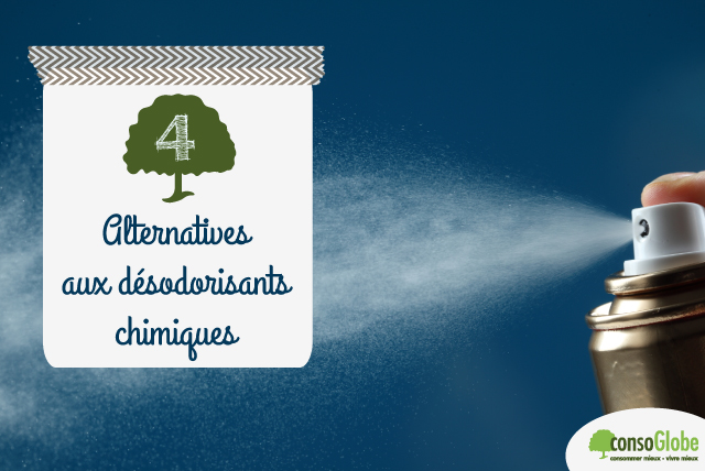 alternatives désodorisants chimiques