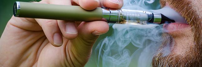 La cigarette électronique briseuse de cigarettes