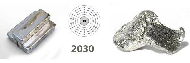 La disparition annoncée de l'indium