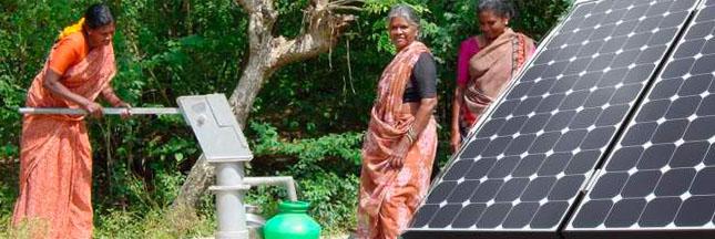 Irrigation - l'eau passe au solaire en Inde