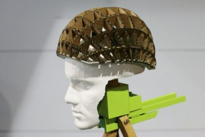Kranium, casque en carton