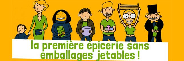 La Recharge,  épicerie française sans emballages jetables !
