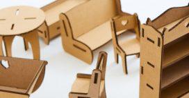 Construisez vous-même votre meuble en carton!