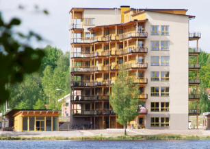 Immeuble bois Växjö