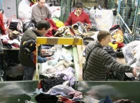 Déchets vêtements