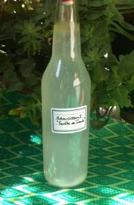 Assouplissant naturel les macarons la chartreuse for Adoucissant maison