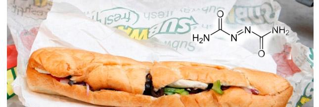 Subway a-t-il retiré l'azodicarbonamide de ses sandwichs ?
