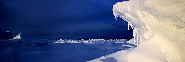 Plastique - même la banquise arctique est gangrenée