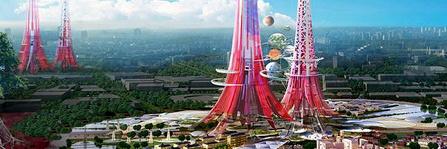 Chine : des tours géantes pour dépolluer air et eau !