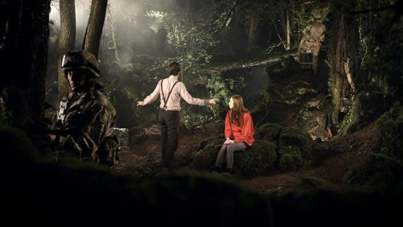 Certes, dans Doctor Who, c'est possible: une forêt = la réserve d'oxygène d'un vaisseau. Mais c'est une technologie d'une autre planète... et de la science-fiction!